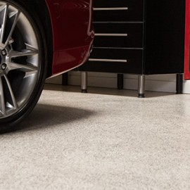 Springdale Garage Floor Epoxy